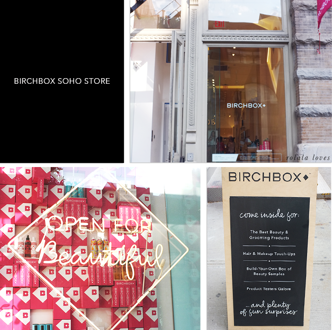 Birchbox Store Review