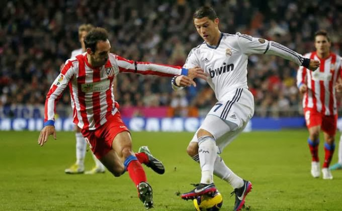 Susunan Pemain Atletico Madrid Vs Real Madrid