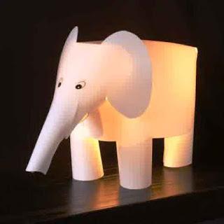 Lampu Tidur Anak Unik Dan Kreatif Bentuk Gajah