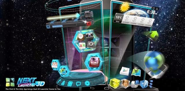 Download Next Launcher 3D v2.07 APK