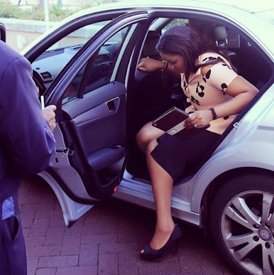 omotola jalade Capetown south africa