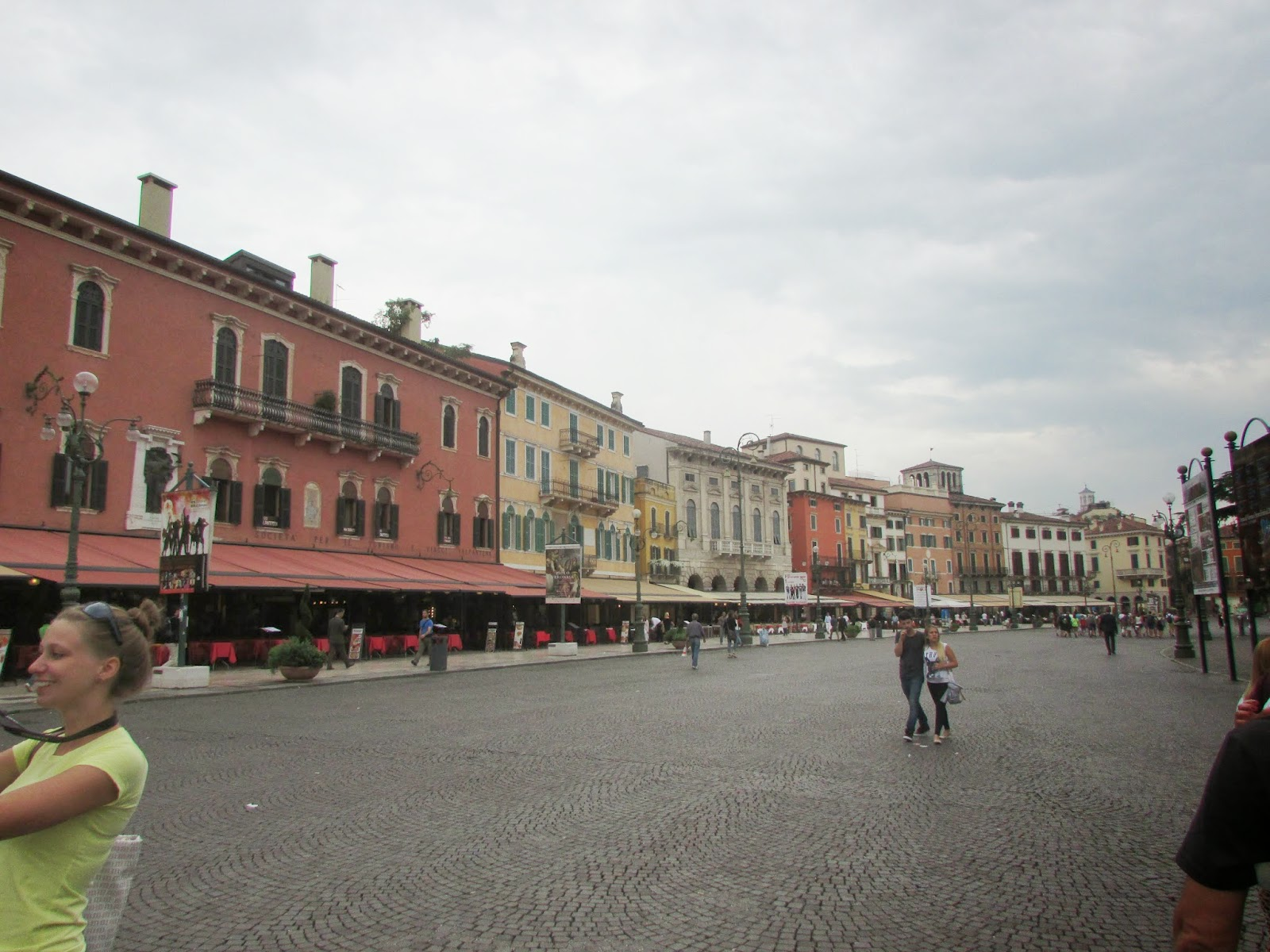 Itália, Verona, Piazza Bra