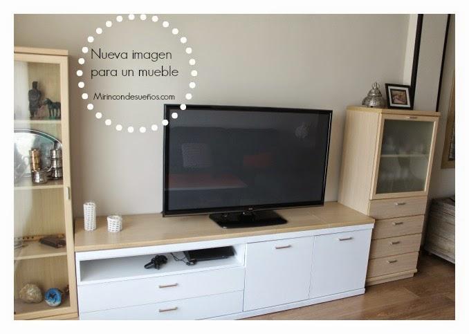 Mi rinc n de sue os small lowcost reciclando mueble para - Transformar un mueble ...