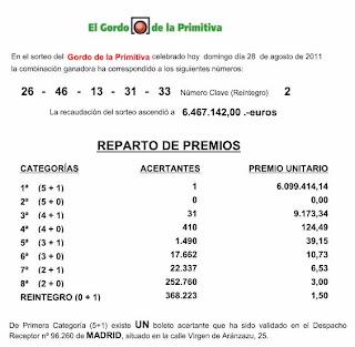 loterias gordo agosto