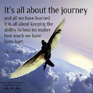 its all about the journey - Inspirational Positive Quotes