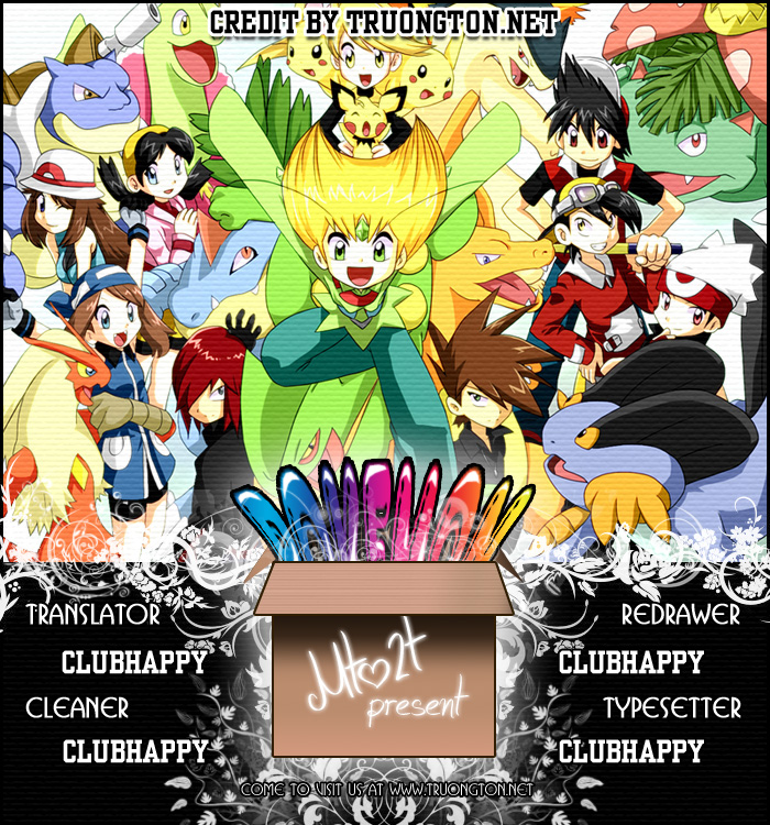 Pokemon Special chap 120