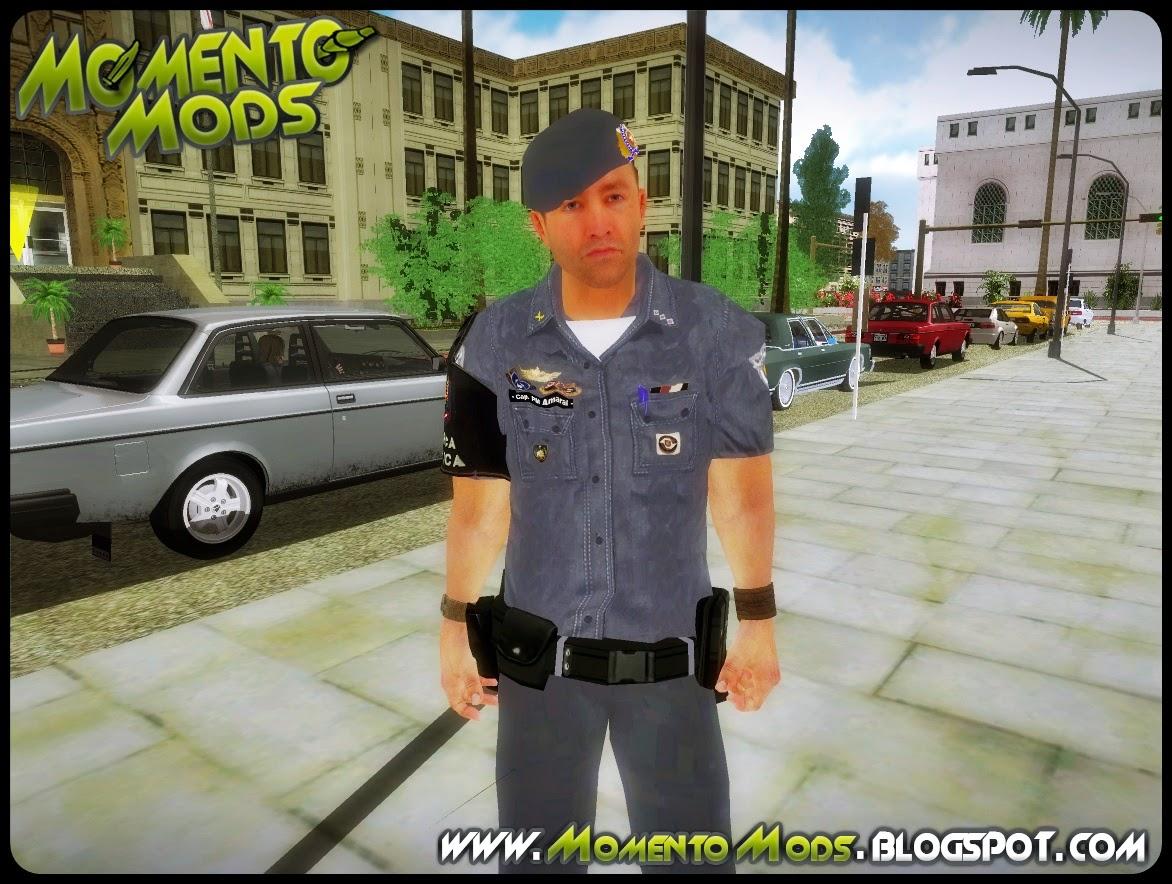 GTA SA - Pack De Skins Policiais PMESP 2014