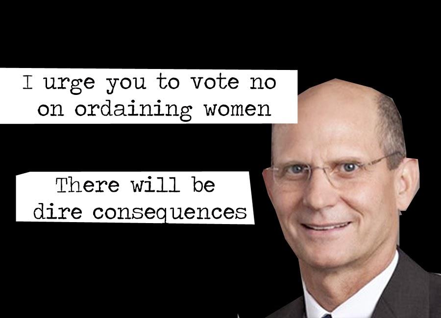 Ted Wilson Women's Ordination