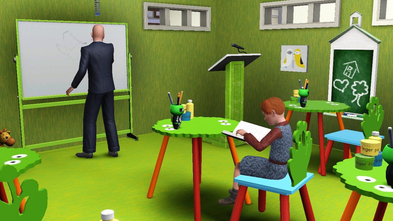 sims 3 school