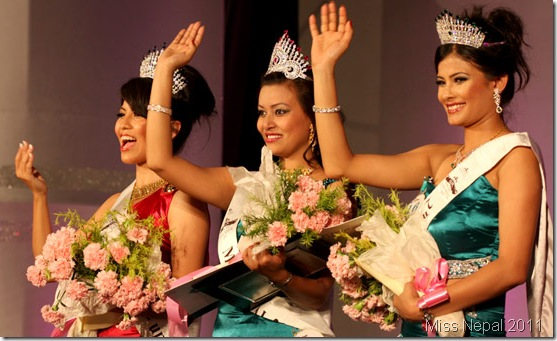 The Winner Miss Nepal 2011