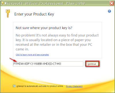 microsoft office professional academic 2010 with product key