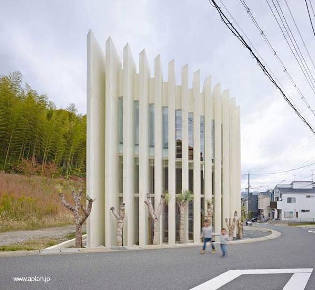 Casa japonesa de diseño ultramoderno