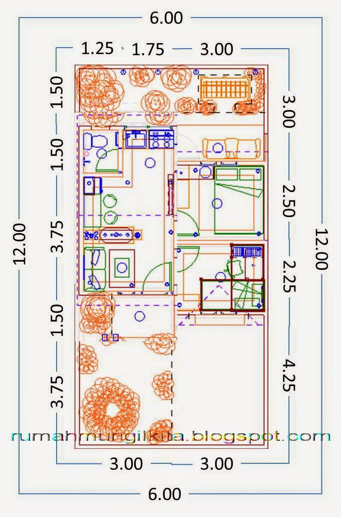 menghitung biaya pembangunan rumah tipe 30