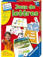 Jeu pédagogique : Jeux de lettres