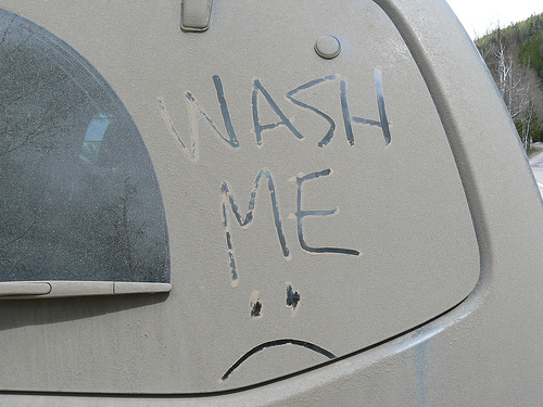 What Can Clean Really Dirty Car Windows