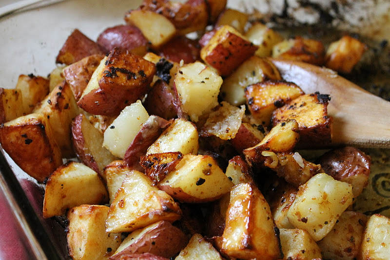 The Little Things: herb roasted potatoes