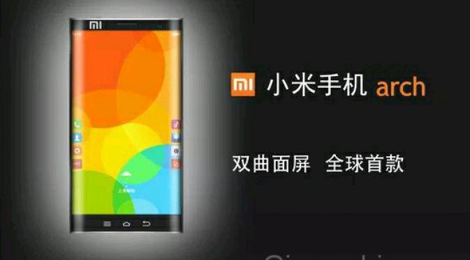 Terbaru dari Xiaomi Siapkan Smartphone Layar Lengkung Dua Sisi