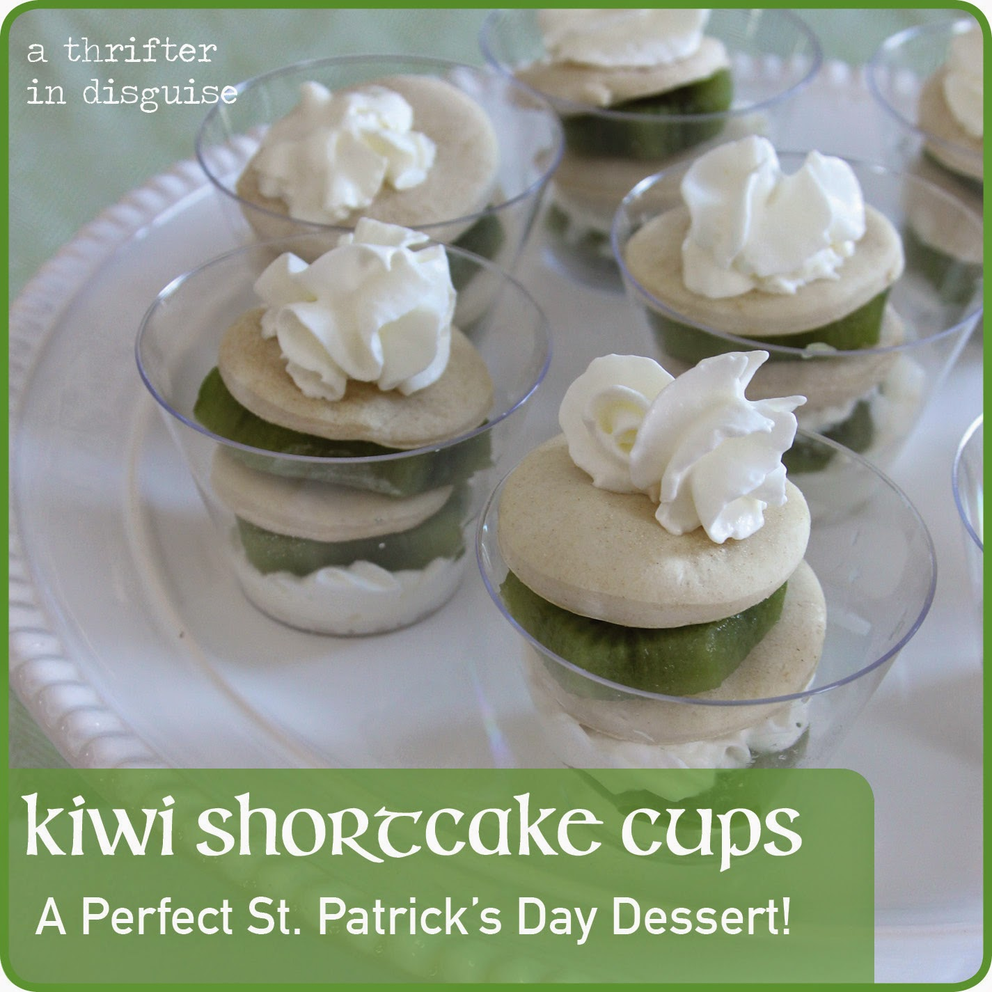 Green St. Patrick Day Dessert