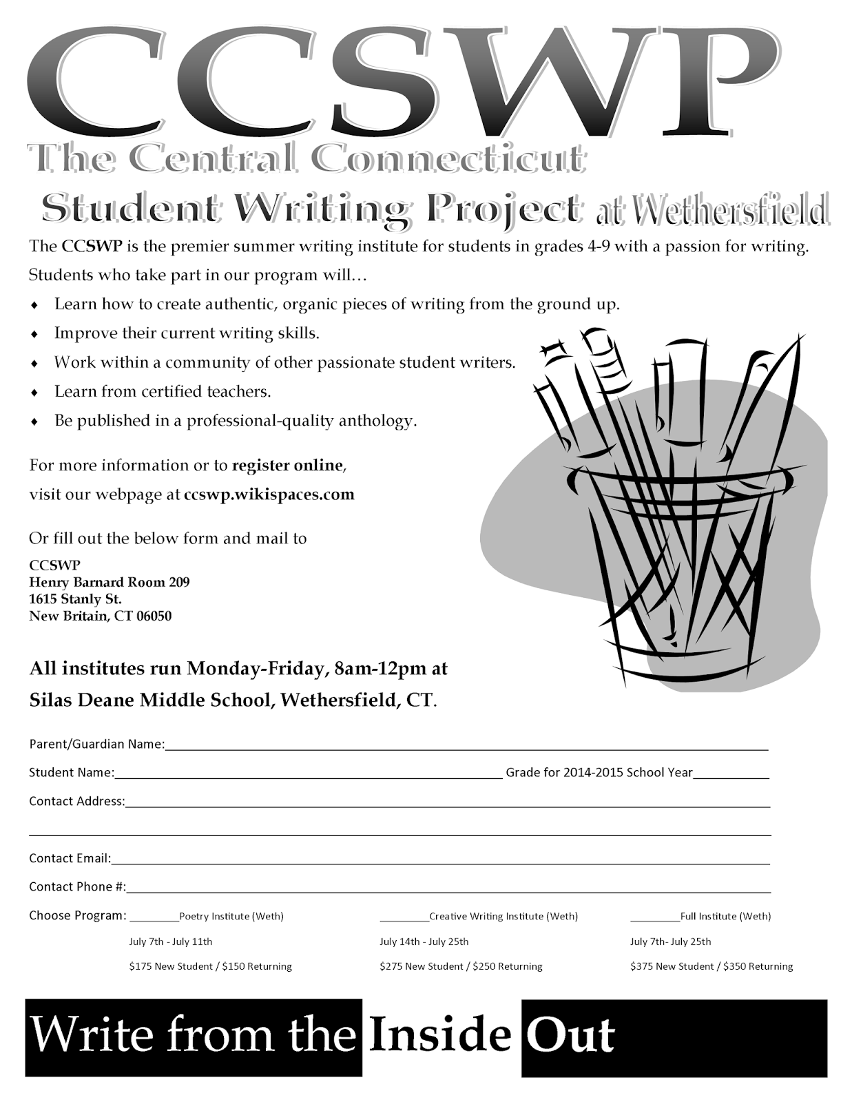 fun creative writing projects for middle school