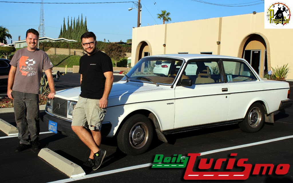 Farewell to the DTPC, our 1983 Volvo 242 DL