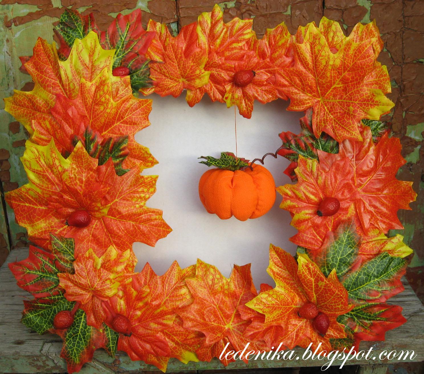 Осенние поделки: 25 идей для детского творчества и украшения интерьера 10
