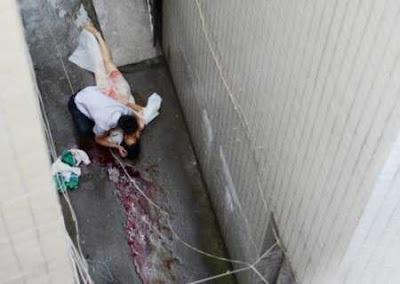 Mulher morre após acidente na China