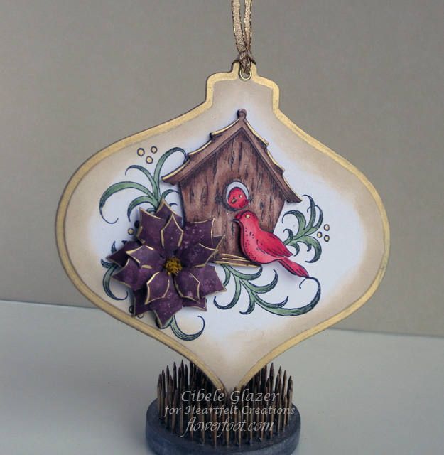 Die Cut Metal First Christmas New Home Ornament
