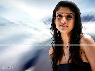 South Indian Actress Nayanthara Hairstyle Pictures - Girls Hairstyle Ideas