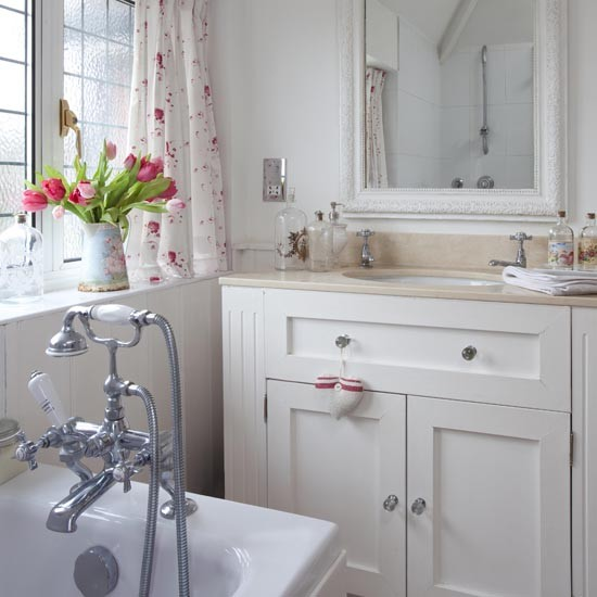 Casa Mia Banheiro Cheio De Flores