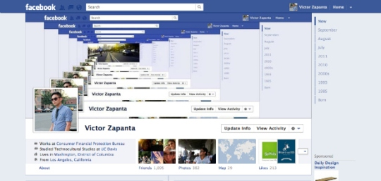 facebook timeline creative profile 1