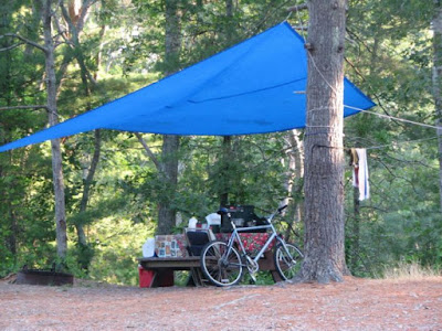 Camping and Bicycling at Nickerson State Park