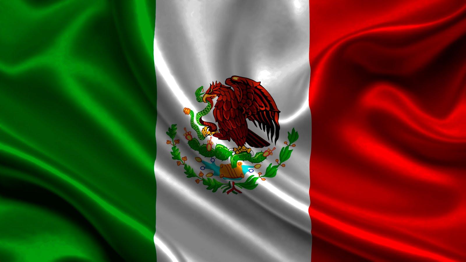 BANDERA NACIONAL DE MEXICO