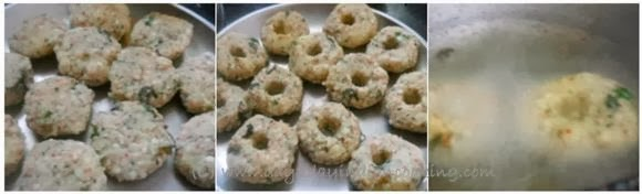 step 2 of sabudana vada
