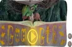 Halloween 2013: doodle animado interactivo de Google, 31 de octubre