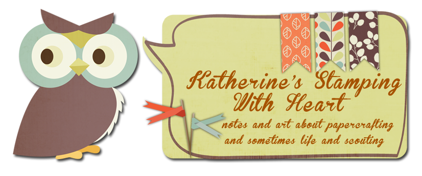 Katherine's Stamping with Heart