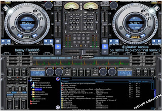 برنامج توزيع الاغاني وتعديل الصوتيات Virtual Dj 2013