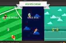 Juegos de Google para probar el poder de Chrome en dispositivos móviles: Kick with Chrome