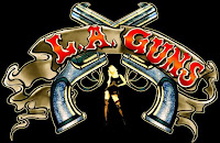 Band name explained - Guns n Roses - LA Guns logo