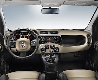 Nuova Fiat Panda 2012, foto statica, cruscotto