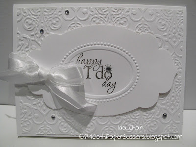 Happy I Do Day Wedding Card by Ida Chan
