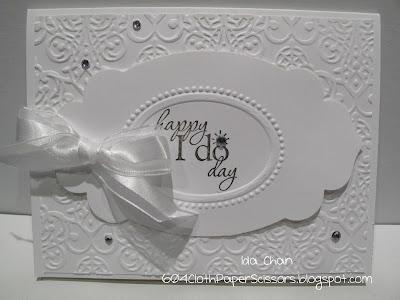 Happy I Do Day Wedding Card by Ida Chan