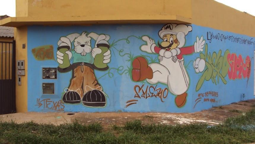 TEXAS e SMERO persona graffiti
