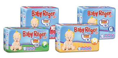 Fraldas Baby Roger