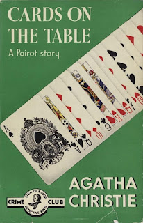 cover of Cards on the Table by Agatha Christie
