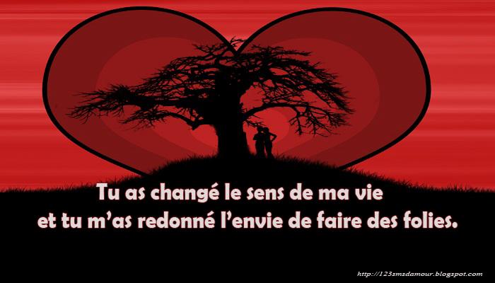 Message d 39 amour images frompo for Tu est le miroir de ma vie