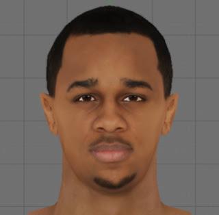 NBA 2K13 John Henson Cyber Face Patch