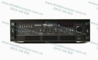 NestAmp A-6 Swiftlets Amplifier - Âm ly dùng trong nhà Yến Tải 350 loa trong nhà Yến. Thông số kỹ thuật: Công suất (Power Output): 2 x 156W (4ohm)/ 2 x 110W (8ohm) Đáp tuyến tần số (Frequency Response): 1W +/-0.2 dB (20Hz~20KHz) Tỉ số tín hiệu trên tạp âm (S/N Ratio - Signal to Noise Ratio: 92dB Điện thế: 240V 50Hz Kích cỡ: 430cmx 130cmx 325cm Nặng: 8.5kg.