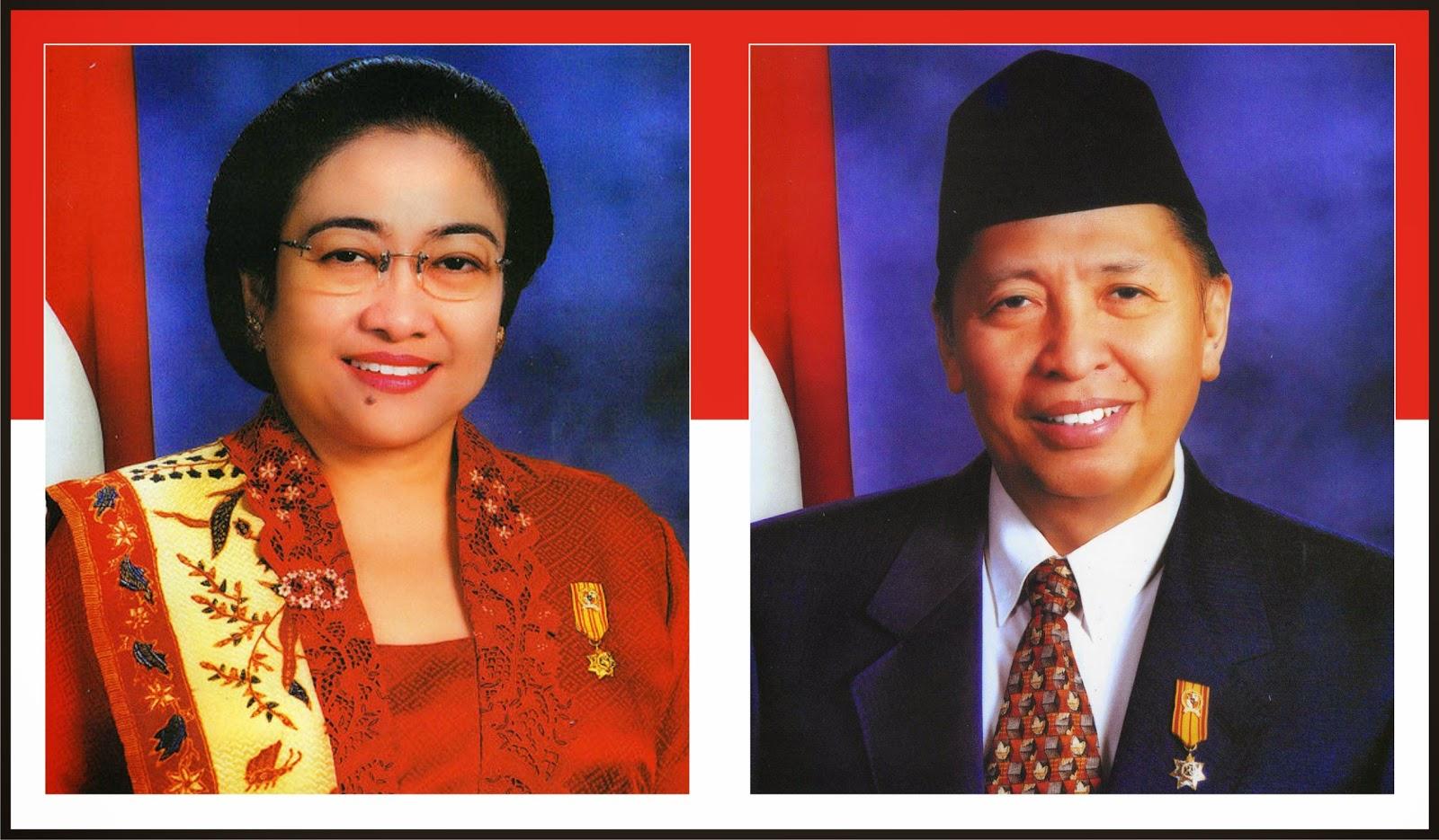 Megawati Soekarno Putri dan Hamzah Haz