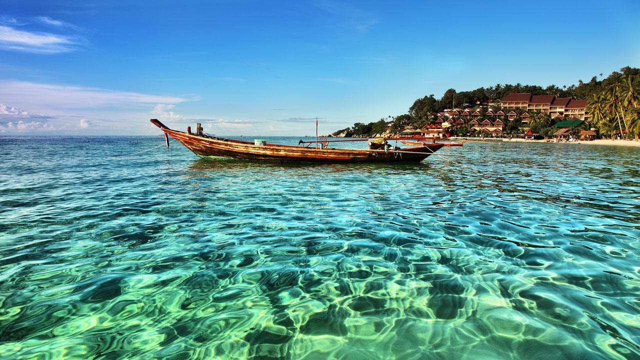 جزيرة كو فانجان الساحرة