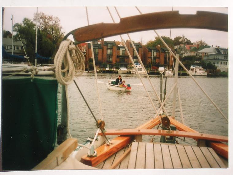 going ashore in annapolis